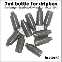 Wholesale Dripbox bottles ml e juice vape liquid bottle Spare Tank for kanger dripbox w starter kit subdrip w dripbox replacement pet bottle