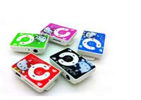 2016 mini clip de música en MP3 Hello Kitty reproductor de apoyo Micro TF tarjeta SD barato estilo deportivo sin piezas de repuesto