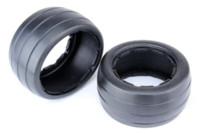 baja king - Rear Slicks Tire pc fit HPI Rovan baja b King motor truck tyre keychain truck hydraulic
