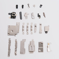 Wholesale In Set Excellent Inner Small Parts Metal Fastening Brackets For iPhone quot Top Repair Parts