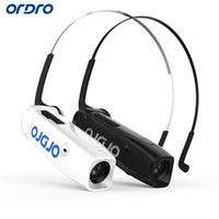 Wholesale ORDRO EP3 Wearable Hand Free Head Band Head mounted P fps HD Mini DV Video Camera Recorder Camcorder Wireless Bone Conduction D4347
