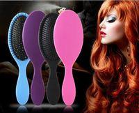 Wholesale 2016 NEW WET Hair Brush Original Detangler Hair Brush Massage Comb with Airbags Combs for wet hair Shower Brush DHL ship