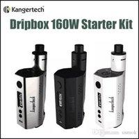 air intake kits - Kangertech Dripbox W Starter Kit E cigarette with ml RBA Tank with Mouth to Lung Inhale Air Intake Kanger Dripbox Kit Original