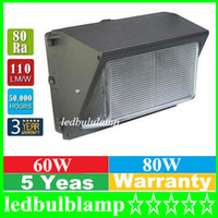 Wholesale DHL Free AC110 V IP68 W W led wall pack light lamp outdoor led wall mounted light lamp equivalent W traditional wallpack lamp
