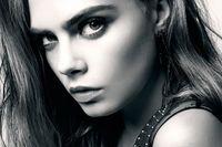 american supermodels - Cara Delevingne Sexy British Pop Supermodel Art Silk poster quot x36 quot inch