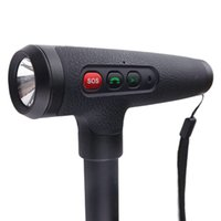 Cheap Multi-function Smart Walking Stick with GPS,SOS call, LED Flashight light, family number ,ios Android APP