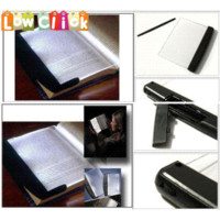 Wholesale LNHF Book Light Reading Led Panel Book Light on your Page Not In your Face Adjustable Lighting