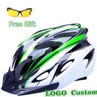 Wholesale Upgrade Colors Ultralight Cycling Helmet Cycling Glasses Bicycle Helmet Women Men Integrally molded Bike Helmet Visor