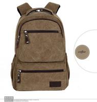 Wholesale HOT schoolbag school students multi inner pockets canvas shoulder bag new retro minimalist fashion tide cool backpack