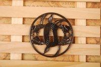 antique knife boxes - Iron Tsuba Hand Guard For Japanese Samurai Sword Knives Katana Wakizashi Ht064