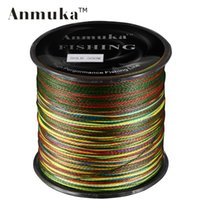 Wholesale M Anmuka Brand Super Series Japan Multifilament PE Braided Fishing Line Strands Braid Wires LB LB LB LB LB LB