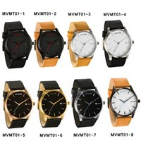 best battery monitor - Men s Women s Fashion Classic Vine Leather Band Black White Color Dial Sport Casual Wrist Watch Best Gift For Men