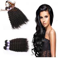 best buy woven - Buy Get Best Selling Deep Wave Hair Weft Brazilian Human Hair Bundels Deep Wave Hair Weave Hair Extensions