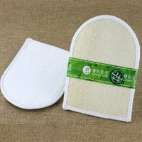Wholesale Natural bath loofah bath gloves brush CM