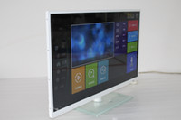 Wholesale 32 Inch LED High Definition Television Luxury Gold Band Ultra thin Energy saving Clear Vision With WIFI