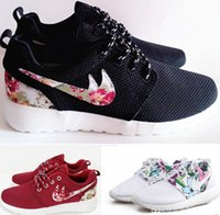 Wholesale Roshe Run Print Shoes factory outlet Womens Mens Running Shoe Sports Shoes roshes runs Shoes sneakers Breathable Tennis