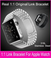 add remove - New Stainless Steel Band For Apple Watch Link Bracelet mm Real Original Watchbands Add And Remove Links Without Any Tool