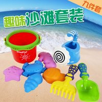 bar agent - Environmental Protection Sandy Beach Toys Cassia Children Sandy Beach Barrel Baby Summer Heat Sell Swimming Toys