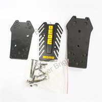 auto transmission kits - Sets New MOMO Car Pedals Modified Manual Transmission pedals Auto Universal Clutch Brake Accelerator Pedals Kit