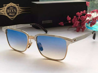 aristocrat gold - Mens Dita Sunglasses ARISTOCRAT DRX Gold Plate Frame Blue Lens with box