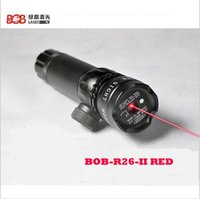 Wholesale Tactical Red Beam Laser Sight with Rail Mount mw Red Laser Emitter Sharp Image Point Pressure Pad Switch and quot quot type Mount