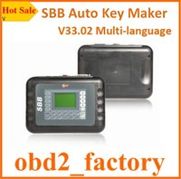 Wholesale High Quality SBB Auto Key Maker SBB V33 Universal Auto Key Maker SBB V33 Multi language Silca with DHL Free