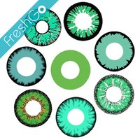 Wholesale Twilight Halloween Contacts Green Reptile Crazy Contacts Large Stock
