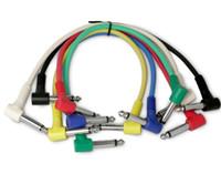 Wholesale 6pcs x cm Guitar Effects Pedal Cable Guitar Amplifier Audio Cable guitar parts musical instruments
