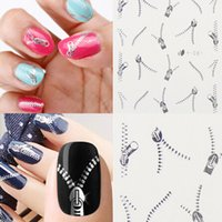 Wholesale Gold Metal Style Decal Sticker christmas nail transfers Fashion style D Design DIY Nail Art Decorations