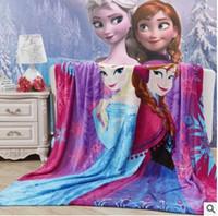 autumn thomas - 127 styles Children Blankets spidermen minions frozen princess thomas sofia mcqueen car stitch pooh mickey Altman KT superhero