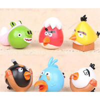 Wholesale Angry bird angry birds version Q mini generation Slingshot birds hand Office doll ornaments