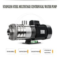 Wholesale Low price high quality stainless steel food class hot cold w hz horizontal multistage centrifugal water pump