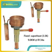 Wholesale 9KW R134a thermostatic expansion valve designed for wall chiller replace Danfoss TEV