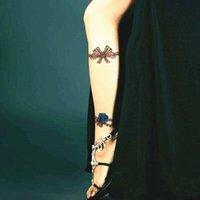 beach sex - 2016 Blue Lover Rose d Temporary Body Art Flash Tattoo Sticker cm Waterproof Henna Tatoo Summer Beach Style Adult Sex Products