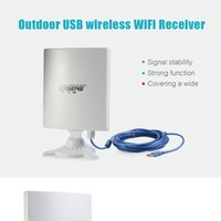 Wholesale KASENS N9600 High Power MW Mbps USB Wireless WiFi Adapter Network Card DBI Antenna B G N Outdoor Long Range