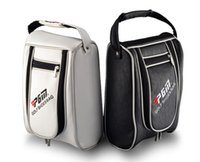 Wholesale PGM Waterproof PU Golf Shoe Bag for Men and Women Customize Golf Shoes Package Travel Bag Golf Accessories Bolsas Shoe Bag