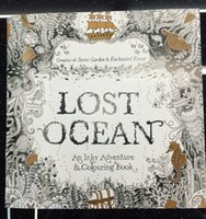 animal treasures - Hot pages An Inky Treasure Hunt and Coloring books Secret Garden Enchanted Forest Books Lost Ocean Animal Kingdom Wonderland DHL Free
