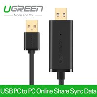 transfer net - Ugreen USB PC to PC Data Link Cable Online Share Sync Data Transfer High Speed Net Direct File Transfer for Windows Mac