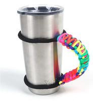 Wholesale YETI cups Handle Handmade Paracord Yeti Rambler oz oz Tumbler Handle have in stock