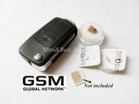 Wholesale 2017 New gsm car key micro earpiece mini earphone earpiece gsm keychain