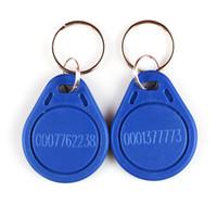 El anillo dominante 125Khz TK4100 RFID de la identificación de la identificación de la proximidad de RFID rojo, diverso color azul para elige la nave libre 500pcs / lot