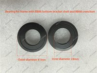 Wholesale Road Bike Axis Bicycle Bike Bottom Bracket Adapter For BB86 frame and BB68 Crankset