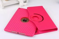 Wholesale Tablet PC Square Grain Style TPU Leather Case Protector With Card Slot For Ipad2 Mini2 Air Air2