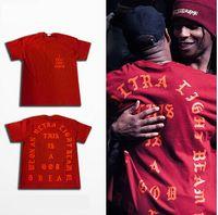 animal lover shirt - C4 Hip Hop Tees I Feel Like Pablo T Shirt Kanye West Men T Shirts Short Sleeve Lovers Streetwear Red S XL