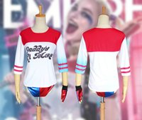 acrylic t shirts - Suicide Squad Harley Quinn Daddy s Lil Monster T Shirt Harley Quinn Cosplay Costume Women Tee