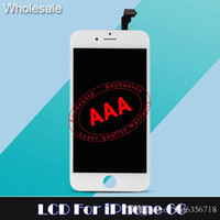 Wholesale Lcd disply Touch Screen For iPhone LCD Touch Screen digitizer full assembly replacement parts with frame shipping within hours