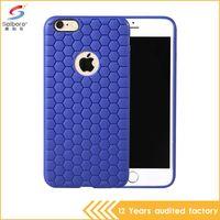 beehive light - Saiboro Light Soft Beehive Case for iPhone Plus Samsung S6Edge S5 Note Honeycomb Cute Design Shock Buffer Anti knock TPU Phone Cases