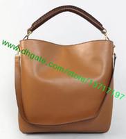 Wholesale Top Grade Smooth Calf Leather Lady BAGATELLE Women Fashion Designer Hobo Shoulder Bag