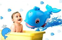baby shower items - baby bath water toys little dolphin toys baby shower bath swimming toys blue dolphin for kids summer toys