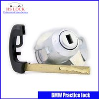 auto cylinder - 2016 Auto Car Practice Lock Cylinder With Car Key Locksmith Tools for BMW Training Car Lock professional Locksmith Supplies